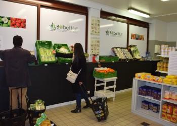 courses à l'épicerie sociale