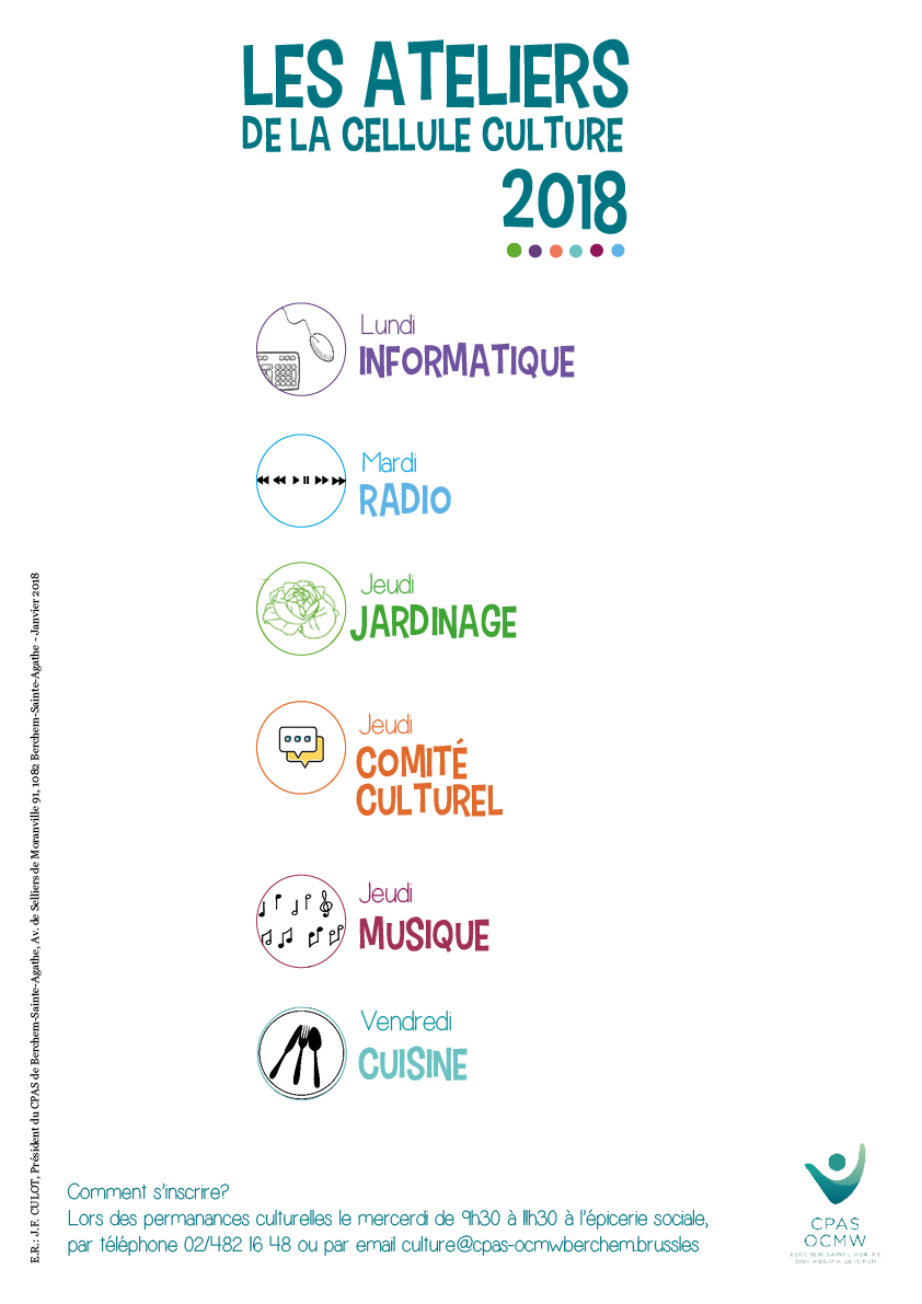 Affiche ateliers 2018