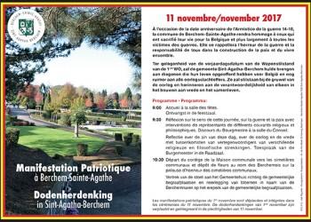 manifestation patriotique 11 novembre