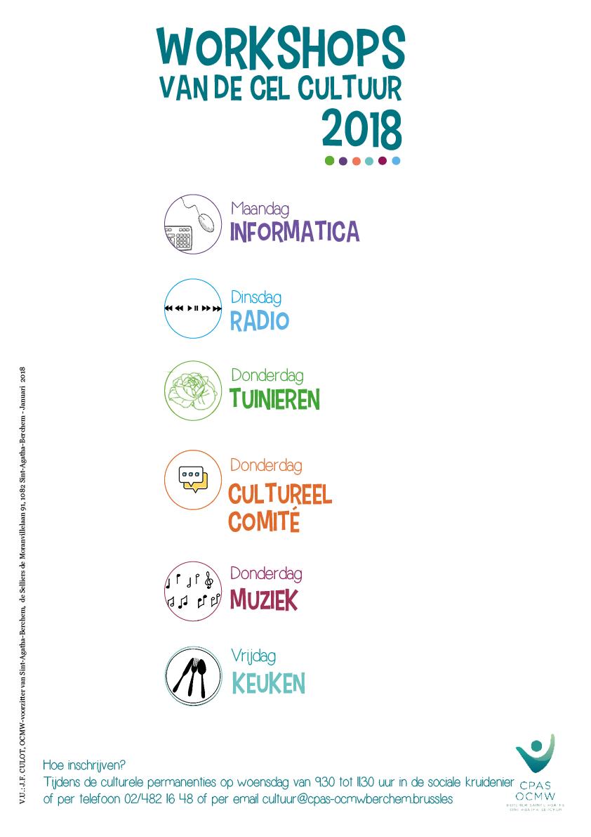 Affiche workshops 2018